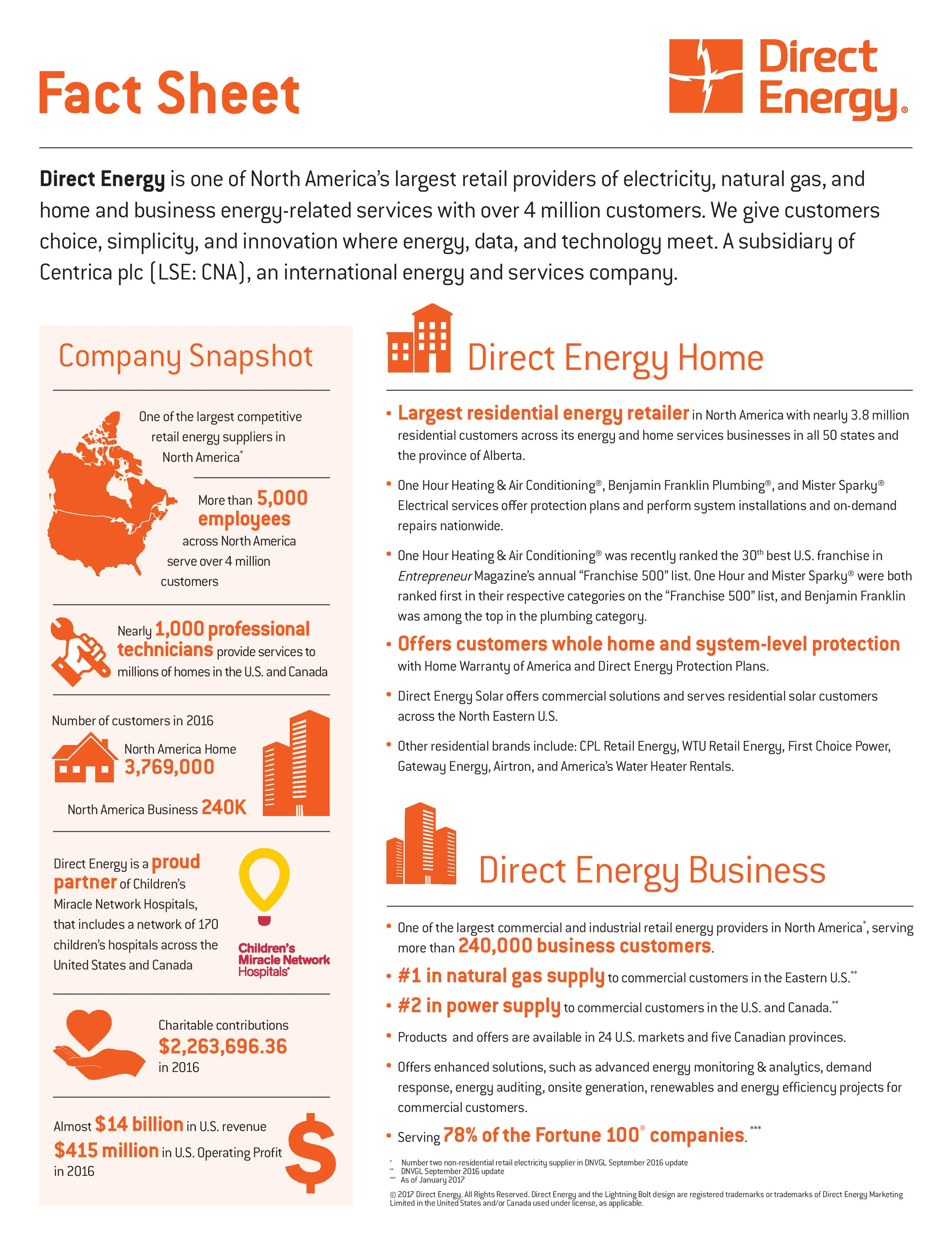 Direct Energy   Direct Energy - Find Out More About Our Company