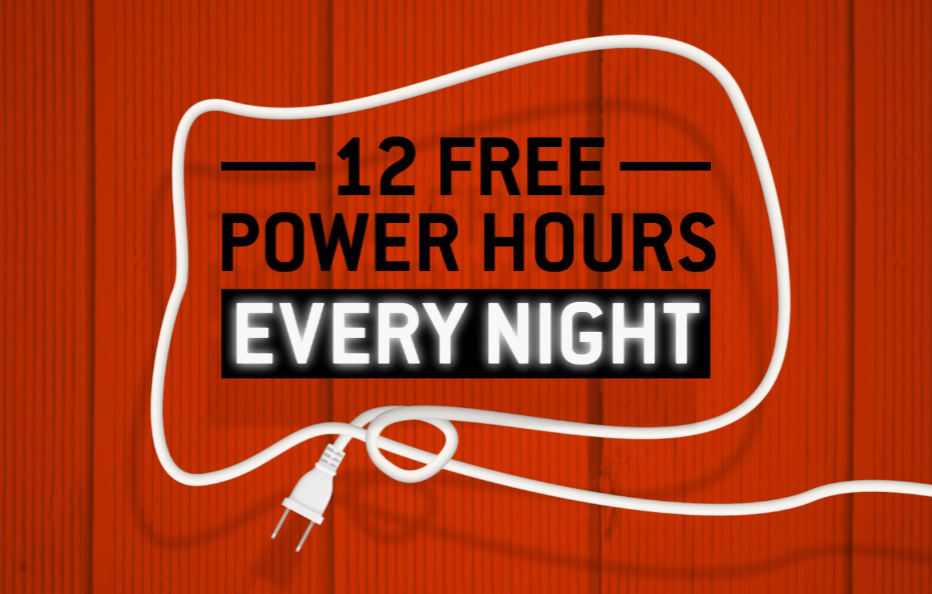 Direct Energy | Direct Energy Unveils Most Free Hours of Electricity