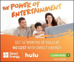 Direct Energy | Direct Energy Announces Live Brighter 12 + Hulu Plan